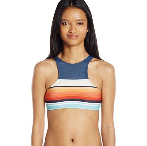 New Rip Curl Womens Surf Daze High Neck Bikini Top XL $44 D Cup Extra Large SUP