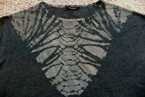 Womens Simply Be Gray Top Size 14