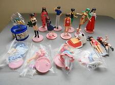 Lot Urusei Yatsura Gashapon figure set Ramu