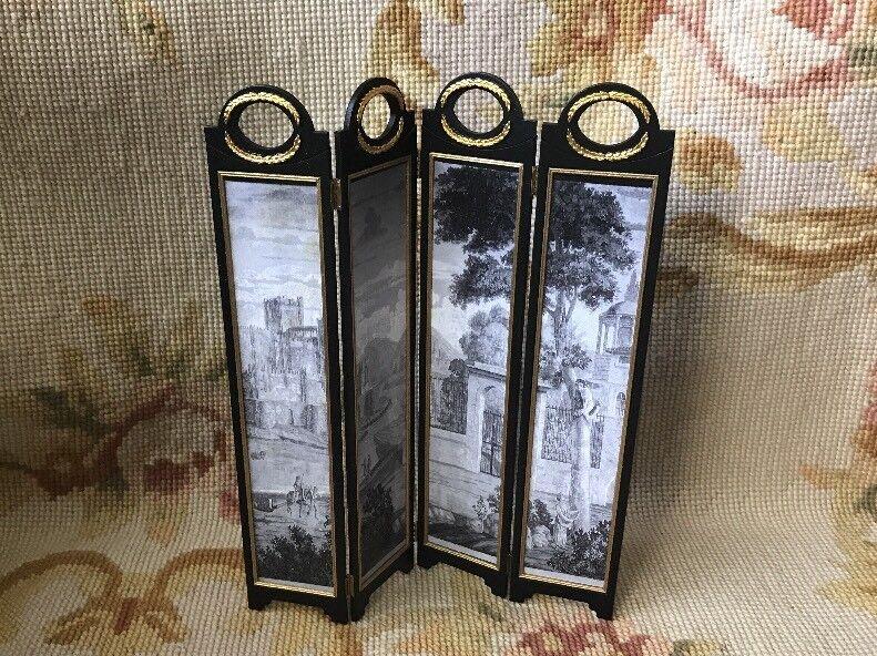 Blautte Meloney Dollhouse Furniture Brook Tucker Room Divider Screen Stand 221
