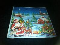 """3x Serviette """"Weihnachtsabend"""",Weihnachten, Motiv 26,Deko/Serviettentechnik, Neu"""