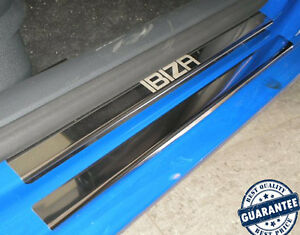 SEAT-IBIZA-6L-2002-2008-5D-8pcs-Stainless-Steel-Door-Sill-Guard-Scuff-Protectors