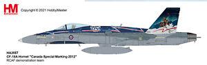 "Hobby Master HA3557 1/72 CF-18A Hornet ""Canada Special Marking 2012"" RCAF demons"