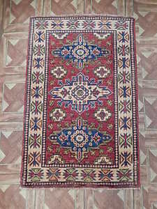 Antique Designed Carpet Handmade Area Rug 2' x 3' Kazak