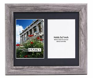 f2bbd0ae738 Image is loading CreativePF-2-Opening-Multi-5x7-Driftwood-Picture-Frame-