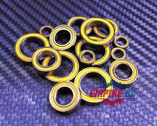 [Yellow] Rubber Ball Bearing Bearings Set FOR TRAXXAS E-REVO / REVO 3.3 PLATINUM