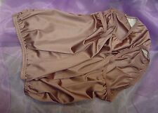 VANITY FAIR BROWN 15712/15812 PERFECTLY YOURS NYLON BRIEFS PANTIES~8/XL~NEW