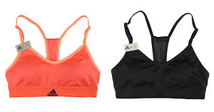b337db4afc67e Adidas Women s New Strappy Bra BQ6494 BQ6489 Yoga Training Climacool ...