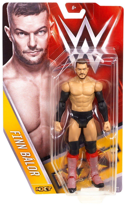 WWE FINN BALOR FIN NXT LOTTATORE AZIONE SERIE BASIC 57 MATTEL WRESTLING FIGURE