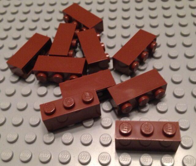 12x LEGO® Stein 1x3 3622 NEU Braun Reddish Brown