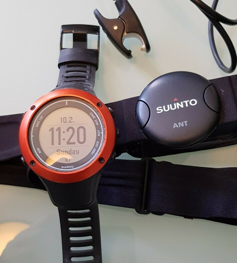 Suunto Ambit 2 S Red HR 50mm GPS Multisport Watch - brilliant for outdoor sports