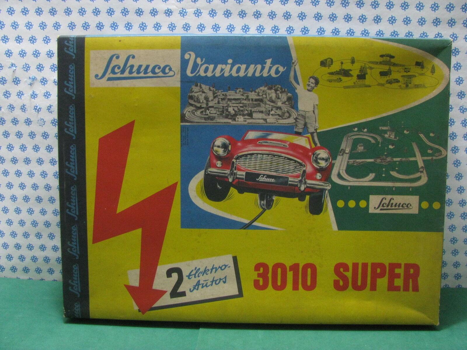 SCHUCO Varianto 3010 Super - 2 ELEKTRO AUTOS-Made U.S.Zone W.Germany