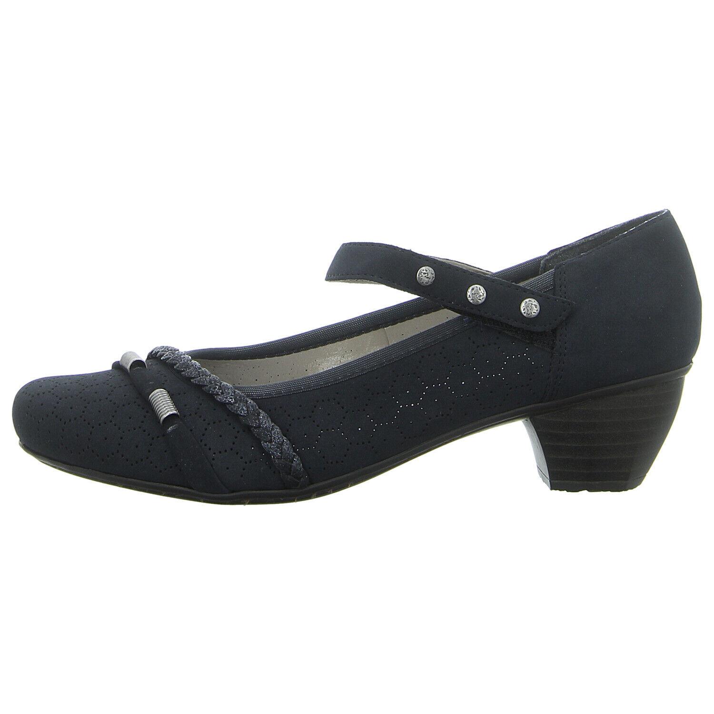 Details zu Damen Halbschuhe Rieker Echtleder Freizeit Komfortable Schuhe Gr. 36 42 NEU