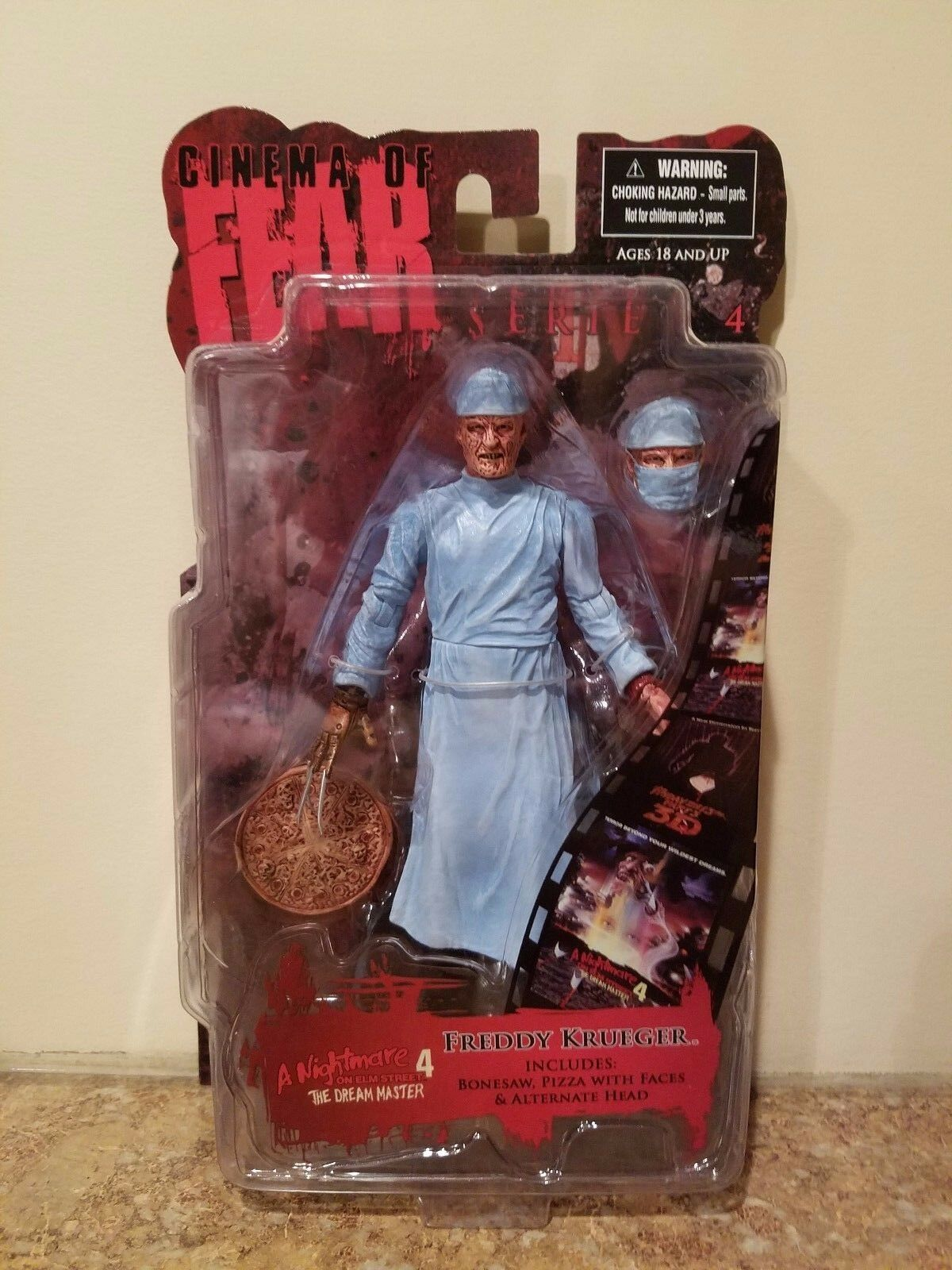 Mezco Cinema of Fear Series 4 FROTdy Krueger Nightmare on Elm Street Figure NEW