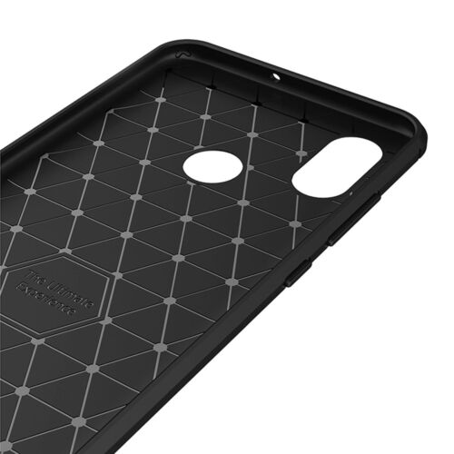 Custodia protettiva cover Rugged Armor Carbon Design Xiaomi Mi 8 case flessibile