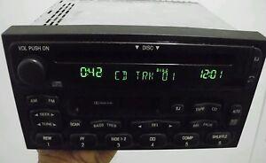 Mercury Villager Quest factory CD cassette player radio 99 00 01 YF5F-18C868-A1A