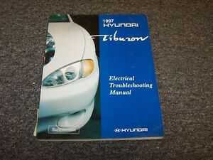 Tremendous 1997 Hyundai Tiburon Coupe Electrical Wiring Diagram Manual Book Fx Wiring Cloud Nuvitbieswglorg