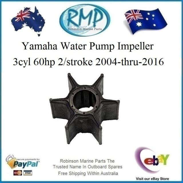A Brand New Yamaha Water Pump Impeller 60hp 2004-thru-2016 # R 688-44352-03