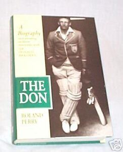 OO-CRICKET-BOOK-DON-BRADMAN-BIOGRAPHY-034-THE-DON-034