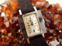 Tudor by Rolex, Vintage Ladies Watch 18K White Gold, 17 Rubies
