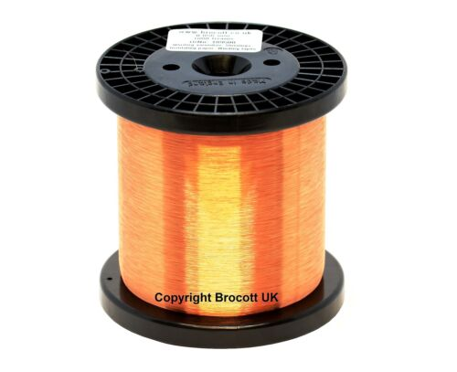 44AWG ENAMELLED COPPER GUITAR PICKUP WIRE COIL WIRE 1KG SPOOL MAGNET WIRE