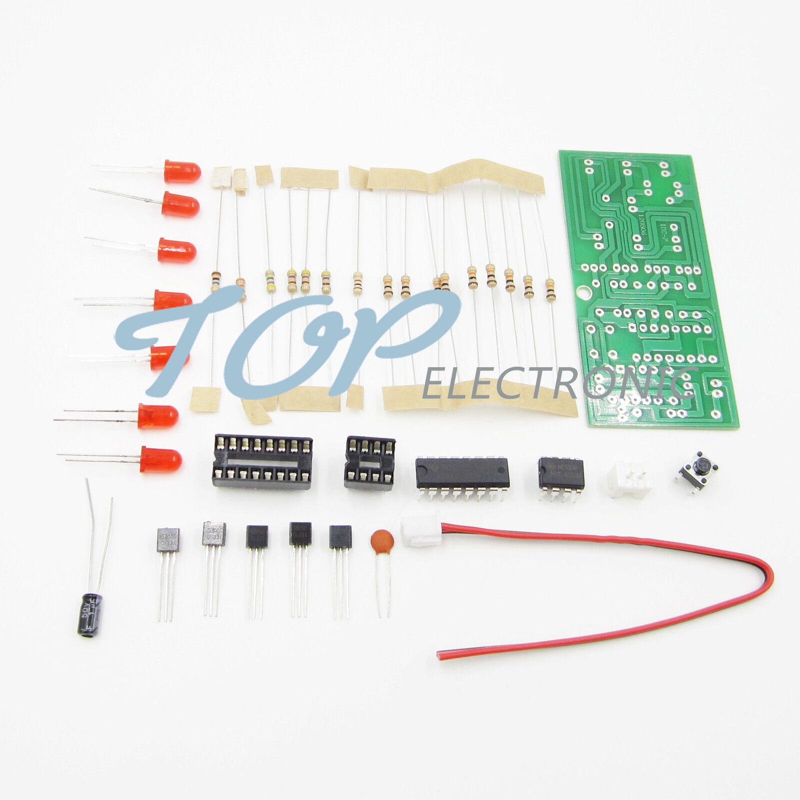 Electronic dice NE555 CD4017 DIY kit 5mm Red led 4.5-5V ICSK057A Electronic Fun