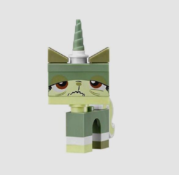 LEGO Movie Queasy Kitty MiniFigure Benny's MetalBeard's Sea Cow Cat New 70810