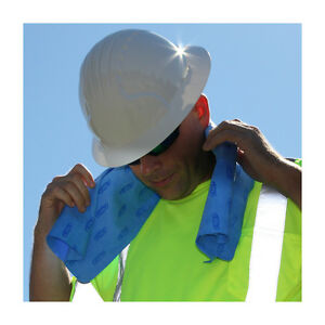 Radians Arctic Radwear Safety Cooling Towel Wrap Colors: Blue or Green or Pink!