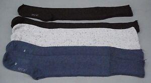 NWOT Hue Women's Knee High Socks Tweed One Size 6 Pair Multi Nice #21D