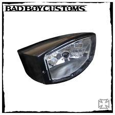 Scheinwerfer Lampe eckig Harley Davidson BBC 081 schwarz Night Rod Special,V-Rod