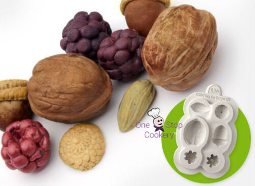 Katy Sue NUTS /& BERRIES Silicone Sugarcraft Cake Decorating Mould Arts /& Crafts