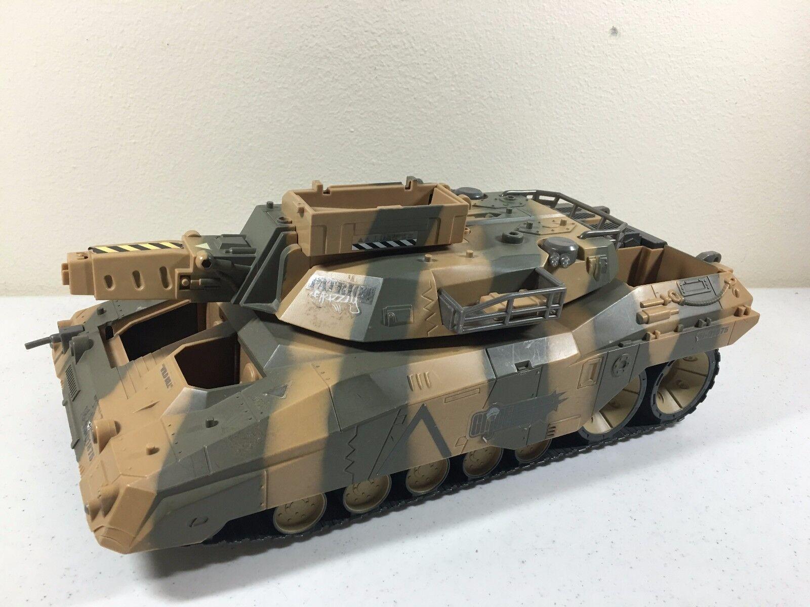 GI Joe Patriot Grizzly Tank Spytroops 2003
