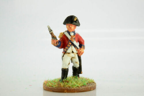 Victorious Miniatures NAPOLEONIC Officer in Bicorne with pistol NAPBRPO7 28mm