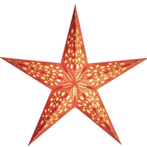 Starlightz Stern Festival orange 45 cm Leuchtstern Papier Faltstern Weihnac