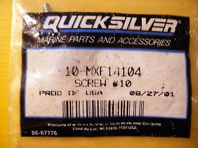"3 Quicksilver Motorguide MXF14104 Trolling Motor Top to Bottom Cover Screws 1/"""