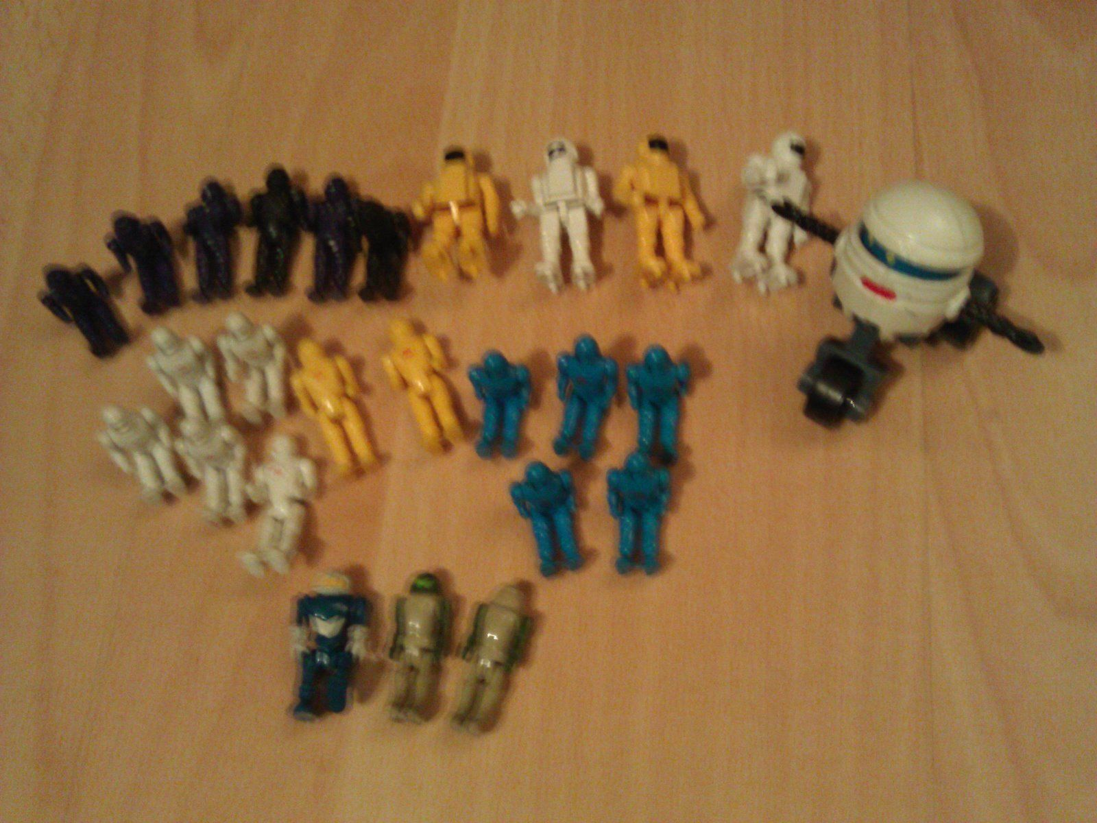 Action Figures, Weapons & Parts Lot - MASK, Manta Force & more