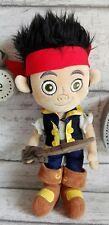 Doudou peluche Jack le Pirate épée Disney store London 32 cm