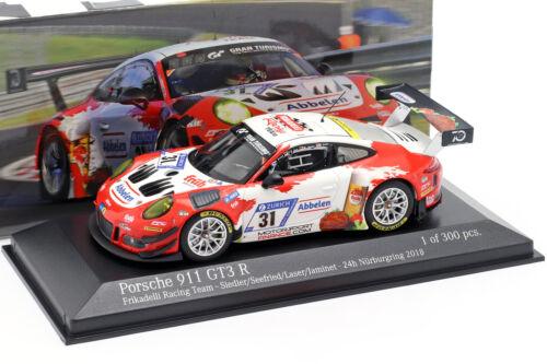 991 Porsche 911 GT3 R #31 24h Nürburgring 2018 Frikadelli Racing 1:43 Minicha