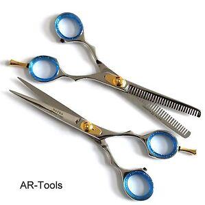 Exclusive Set Of 2 Hair Scissors Hairstyle Scissors Eksklusiv Frisør ...