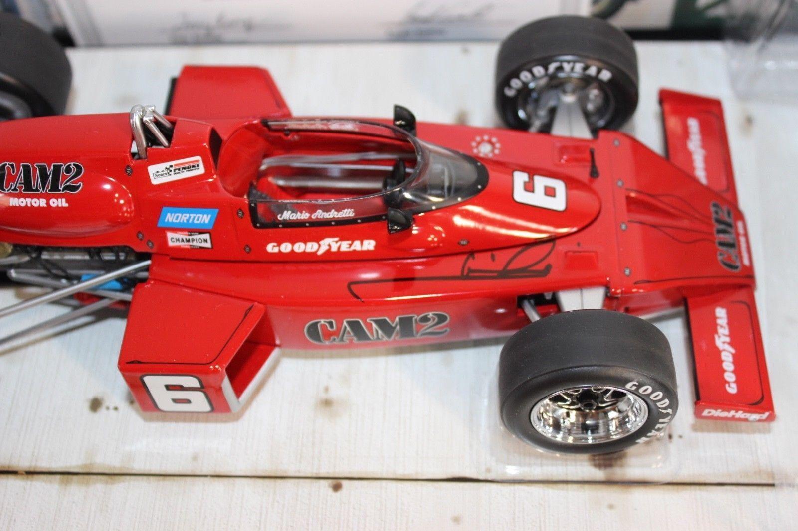 in vendita online autoousel 1 1976 Mario eretti eretti eretti SIGNED Penske McLaren 16 race auto Indy 500 1 18  outlet online