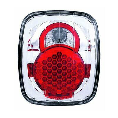 87-06 Jeep Wrangler 1 Pair IPCW Clear Tail Lights