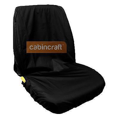 Iseki Tractor Cabincraft Heavy Duty Tough Waterproof Seat Cover Black