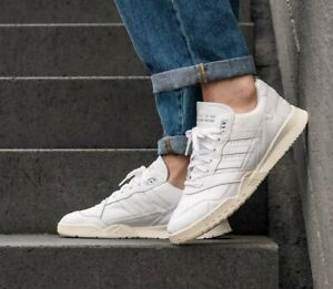 Details about Adidas Originals Mens A.R. Trainer Shoes White Leather EE6331 UK 7, 8.5