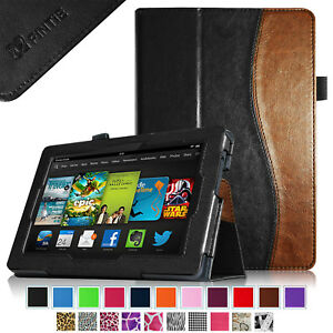 For Amazon Kindle Fire Hd 7 3rd Generation 2013 Old Model Folio Case Cover Stand Ebay