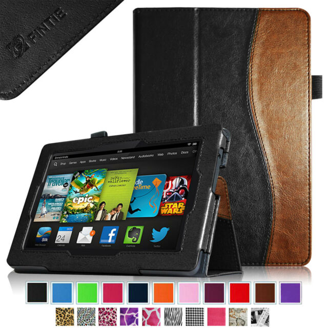 Amazon Kindle Fire Hd Standing Leather Origami Case for 7inch ... | 640x640