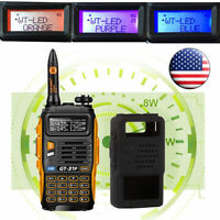 Baofeng Gt-3tp Markiii V/uhf 1/4/8w Dual Band Fm Walkie Talkie Ham Two-way Radio on sale