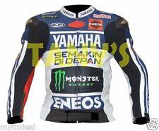 Jorge Lorenzo Yamaha Motogp 2013 Motorcycle Motorbike Racing Leather Jacket