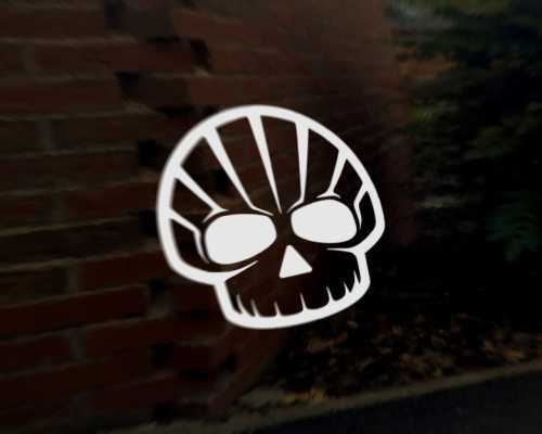 Shell hell car vinyl decal vehicle bike graphic bumper sticker