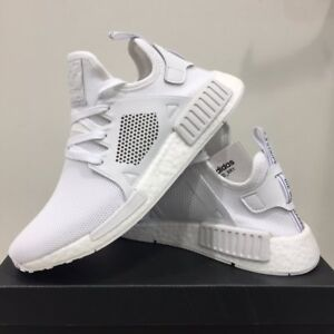 wholesale dealer 93bea 78c8f Details about Adidas NMD xR1 PK Primeknit BY9922 Triple White, Unisex Shoes  Athletic Sneakers