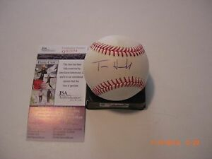 TOM-HANKS-FORREST-GUMP-SAVING-PRIVATE-RYAN-ACTOR-JSA-COA-SIGNED-MLB-BASEBALL